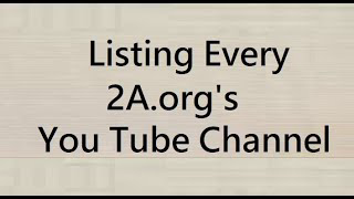 EVERY State Level 2A .org in a List .. in the description of this video LIVE