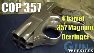Cop 357 - The BEST Four Barrel Derringer