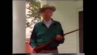 Johnny Rowlands Shootin Show 1991 - NSSF - Guns for Christmas