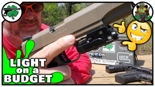 Axeon Optics MPL1 LED Pistol Light | Features & Quick Review