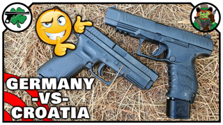 Walther PPQ -VS- Springfield XD 9mm ACCURACY Battle