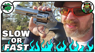 Subsonic -VS- High Velocity in the Rock Island Armory AL22 Revolver
