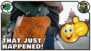 An AMAZING Moment With Texas Constitutional Carry Debate