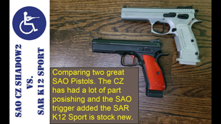 SAO CZ Shadow2 vs. SAR K12 Sport