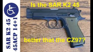 SAR K2 45 ACP 14+1 rounds