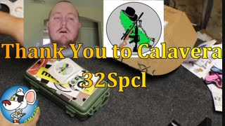 Unboxing Calaveras 32Spcl