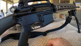 AR-15 Bastion Trigger Guard Install 2-19-2021