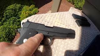 """Colt 1911 """"Combat Target Model"""" sold for one year 1997. 27Aug2021"""