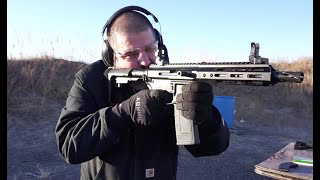 "Initial range test of the Bear Creek Arsenal 7.5"" Side Charging 300 BLK and 7.62x39 uppers!"