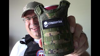 "CyberDyer Beverage Cooler Tactical ""Bottle Armor"""