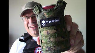 "CyberDyer Beverage Cooler Tactical ""Bottle Armor"""