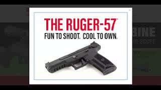 The All New Ruger 57 Pistol, 5.7mm...the details so far.