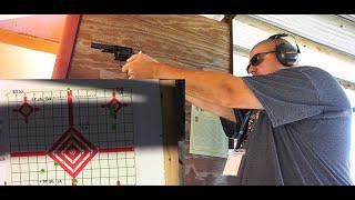 Ruger Police Service Six .357 mag/.38 special Range Test!