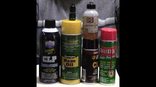 Which gun cleaner/lubricant/protectant should I buy for my firearm?