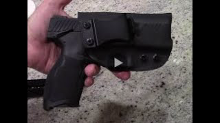 Infused Kydex IWB RH/LH holster for the Taurus TX22!