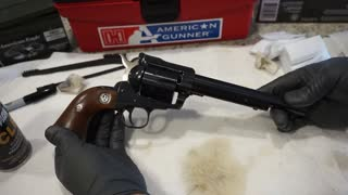 How to clean the Ruger New Blackhawk .357 Mag Revolver!