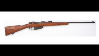 1896 Carcano Rifle Review...Should you buy one?