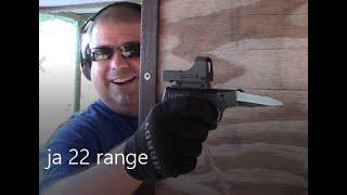 Jimenez JA22 Zombie Gun Challenge Range Test!
