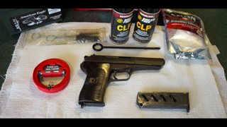 How to clean the CZ52/ Czech Vz52