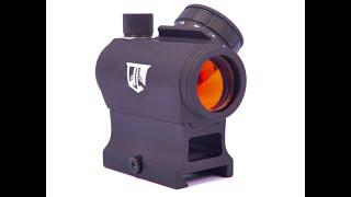 Ozark Armament Razorback $50 red dot test and review on BCA 7.62x39 AR Pistol.