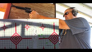 Ruger New Blackhawk Single Action .357 Mag/.38 Special Revolver Range Test!