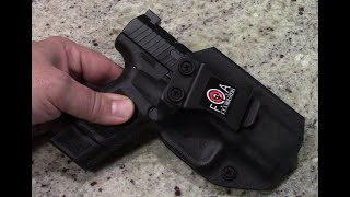 FTA Holsters Kydex IWB holster for the Canik TP9 Elite SC
