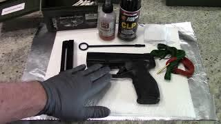 How to clean the Taurus TX22