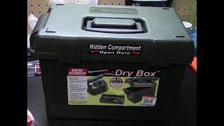MTM Case Gard Sportsmans Plus Utility Dry Box initial review...
