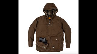 Berne Echo One Conceal Carry Winter Coat!