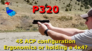 P320 45 ACP Overview