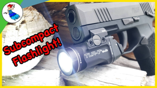 Is This The Subcompact Flashlight We have Been Looking For? // Streamlight TLR-7 Sub