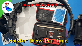 Mantis Laser Academy // Day 3 of 7 - Holster Draw Par Time