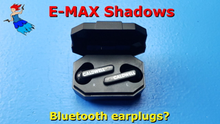 Caldwell E-Max Shadows Review - is it time for Bluetooth Earplugs?