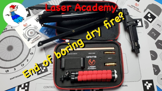 MANTIS LASER ACADEMY // Save your ammo with dry fire training!