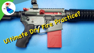 MANTIS BLACKBEARD DRY FIRE TRAINING // Auto-resetting trigger system for your rifle training