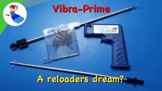 FRANKFORD ARSENAL VIBRA PRIME REVIEW // Vibra Prime automatic primer tube filler for reloading