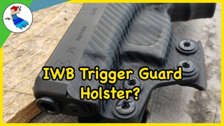 Could this be the most comfortable IWB Kydex holster? // Concealment Express Trigger Guard Holster