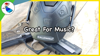 Rocking on the range with the Caldwell E-max Pro BT!