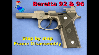 Beretta 92 96 M9 Frame Disassembly