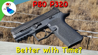 POLYMER 80 SIG P320 GRIP MODULE REVISIT // Does time make it a better product?