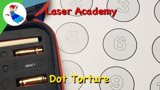 Mantis Laser Academy // Day 6 of 7 - Dot Torture Test