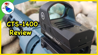The ONLY Mid Range Red Dot You'll Ever Need? \ The Crimson Trace CTS-1400 Review
