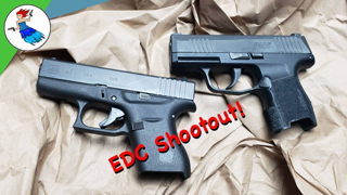 Glock 43 vs Sig P365 // My EDC Showdown!