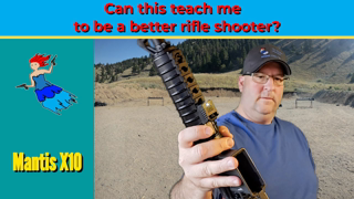 Mantis X10 with a rifle - How to be a better rifle shooter