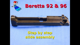 Beretta 92 96 M9 Slide Reassembly