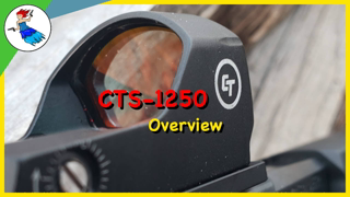 Crimson Trace CTS 1250 Overview and First Shots