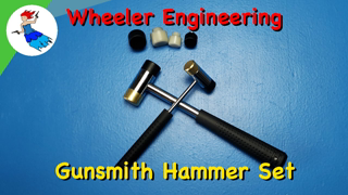 WHEELER GUNSMITHING HAMMER SET // The Wheeler Master Gunsmithing Interchangeable Hammer Set