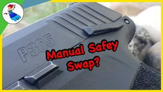 How to do a Sig P365 Manual Safety Swap // P365 MS Install and removal