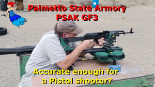 PSAK GF3 Revisit - Can a pistol shooter become a rifle lover?