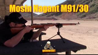 Dusting off the old Mosin Nagant